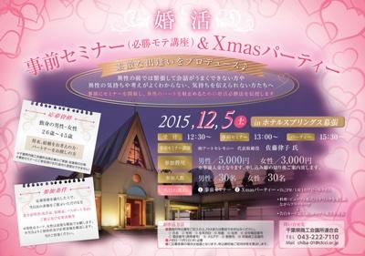 千葉県婚活クリスマスパーティー
